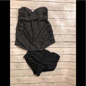 Maternity tankini swimsuit
